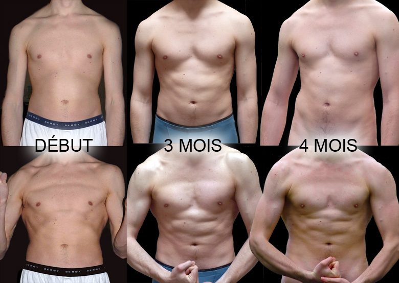 progrès musculation